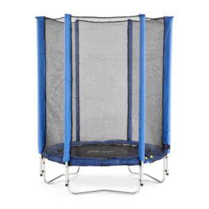 Image of Plum Junior Blue 4.5 ft Trampoline & enclosure