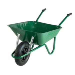 Walsall Black & Green 85L Wheelbarrow