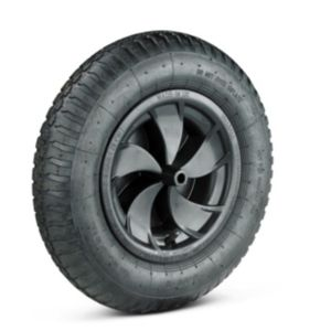 Image of Walsall Walsall Black Pneumatic wheel