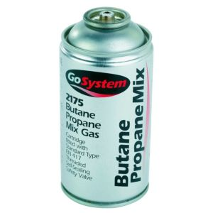 View Gosystem 170G Butane Propane Mix Gas Cartridge details