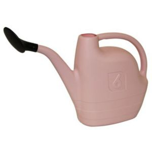 View Pink Plastic Watering Can 6L details