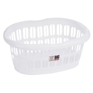 View Wham White Polypropylene Laundry Basket details