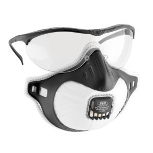 View JSP Filterspec Respiratory Mask & Spec Combo Combines Both Eye & Respiratory Protection details