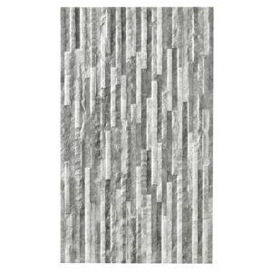 Image of Oscano Pebble & graphite Stone effect Mini split face Ceramic Wall tile Pack of 6 (L)498mm (W)298mm