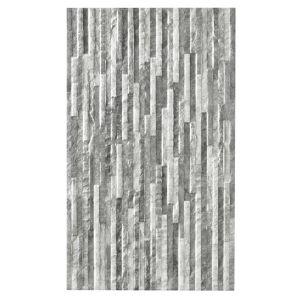 Image of Oscano Graphite & pebble Satin Splitface Ceramic Wall tile Sample (L)498mm (W)298mm