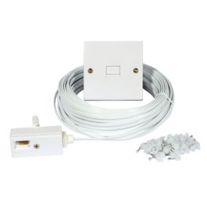 View Philex White Telephone Extension Kit 20m details