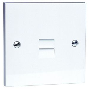 View Philex 1 Gangraised Telephone Socket details
