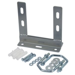 Image of Tristar Silver Outdoor Aerial Wall Fixing Kit