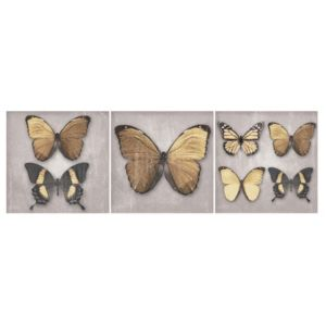 View Butterflies Multicolour Canvas (W)750mm x (H)250mm details