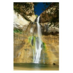 View Waterfall Multicolour Canvas (W)600mm x (H)900mm details
