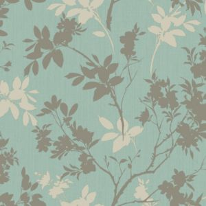 View Arthouse Eco Divine Motif Shimmer Effect Blue Wallpaper details