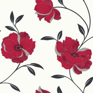 View Arthouse Opera Charleston Red Wallpaper details