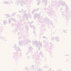 View Wisteria Lilac Wallpaper details