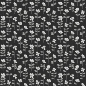 View Orleans Dark Grey & White Floral Wallpaper details