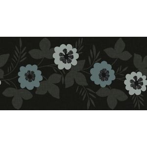 View Arthouse Bloom Black Floral Border details