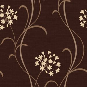 View Arthouse Opera Mia Soft Sheen Highlights Dark Chocolate Wallpaper details
