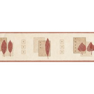 View Arthouse Opera Mulberry Cream & Red Border details