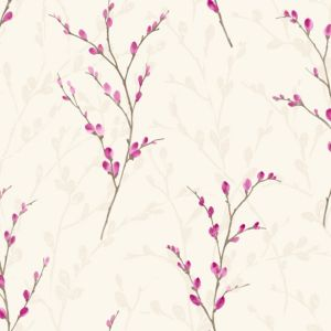 View Arthouse Eco Willow Plum Wallpaper details