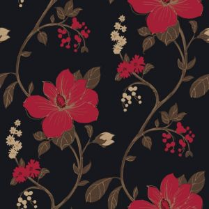 View Arthouse Opera Tatami Black & Red Wallpaper details