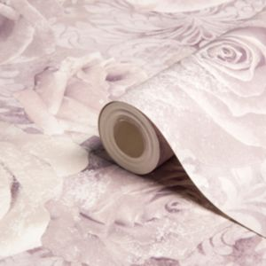 View Reverie Floral Mauve & Purple Wallpaper details