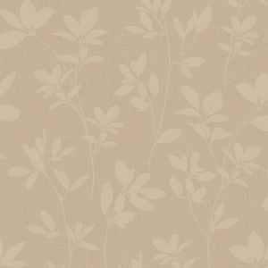 View Laurel Chocolate Vinyl Wallpaper details