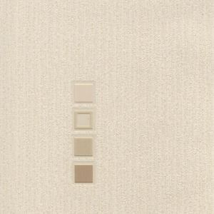 View Quattro Motif Beige Blown Vinyl Wallpaper details