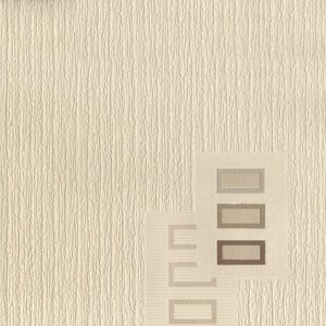 View Satellite Blown Block Motif Chocolate & Cream Blown Vinyl Wallpaper details