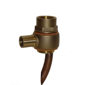 View Techflow Bronze Tank Flange (H)130mm (W)50mm details