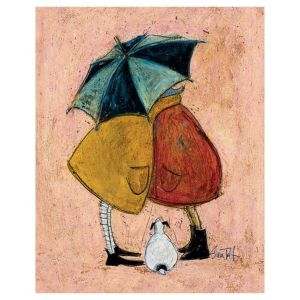Image of Sam Toft A Sneaky One Varied Canvas (W)400mm (H)500mm