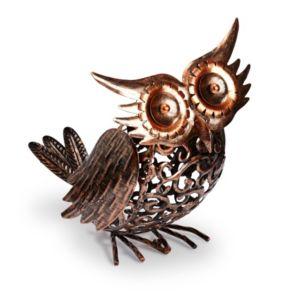 Silhouette Owl Solar Powered LED Light