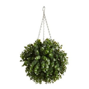 Image of Smart Garden flower White Artificial topiary ball 300 mm