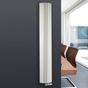 View Jaga Iguana Circo Vertical Radiator White, (H)1800 (W)278mm details