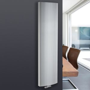 View Jaga Iguana Arco Vertical Radiator White, (H)1800 mm (W)410 mm details
