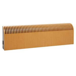Photo of Jaga knockonwood horizontal wooden cased radiator beech veneer -h-300 mm -w-1000 mm