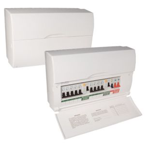 View BG 100A 10-Way Consumer Unit details