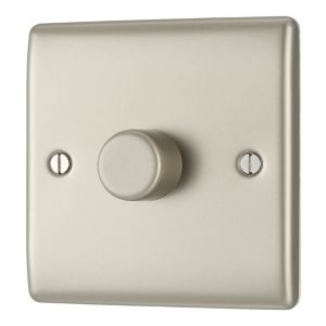 Nexus 2-Way Pearl Nickel Dimmer Switch