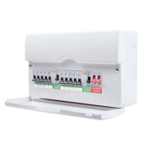 Image of British General 100A 10 way Enclosure consumer unit Consumer unit
