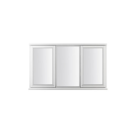 Double Glazed Timber Side Hung Casement Window H 1195mm