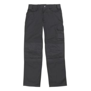View DeWalt Black 65% Polyester 35% Cotton Work Trouser details