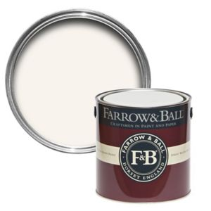 Image of Farrow & Ball All white no.2005 Gloss paint 2.5L