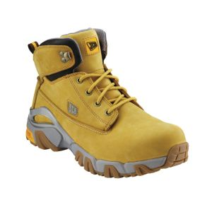 View JCB Honey Waterproof Nubuck Leather Boots, Size 11 details