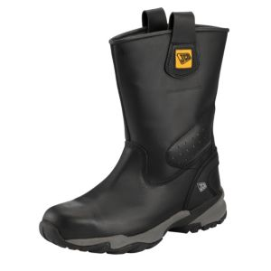 View JCB Trackpro Black Waterproof Boots, Size 11 details