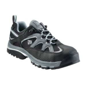View JCB Black & Grey Safety Trainers, Size 11 details