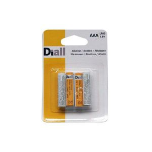 View Diall AAA Alkaline Batteries, Pack of 4 details