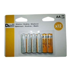View Diall Single Use AA Alkaline Batteries Pack of 12 details