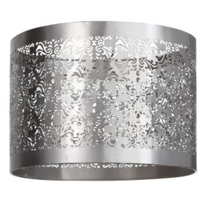 View Colours Bekker Nickel Effect Cut Out Light Shade (D)11.8cm details