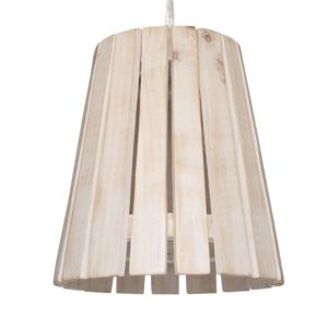 View Colours Carvillon Slatted Light Shade (Dia)240mm details