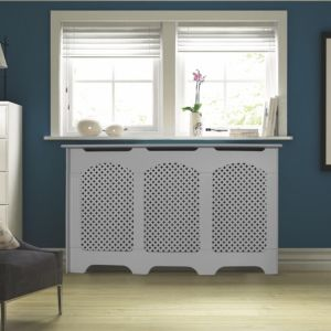 View Large White Cambridge Radiator Cover details