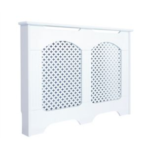 View Medium White Cambridge Radiator Cover details