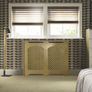 View Cambridge Small Oak Effect Radiator Cover details